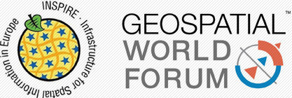 INSPIRE GeoSpatial World Forum Logo