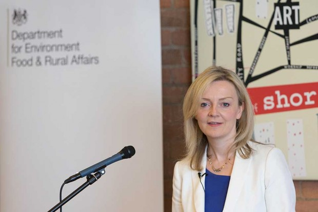 Defra Secretary of State Elizabeth Truss speaking at the Unruly Clubhouse on 25 June 2015