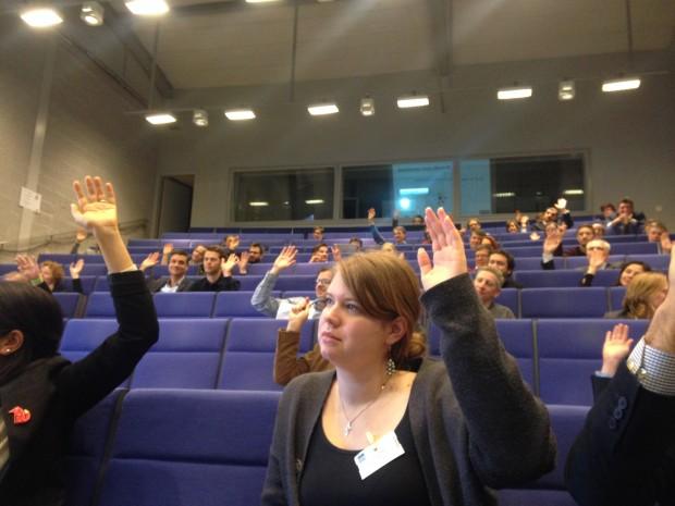 Photo of an auditorium