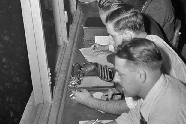 1950s writers at work