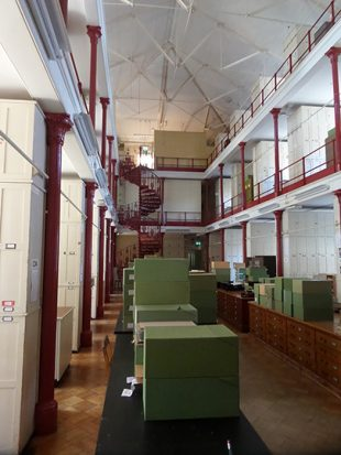 Kew's server room – herbarium