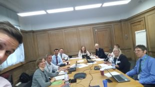 Defra's Programme Board Meeting for the second time.