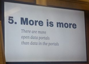 open-data-failure-5-more-is-more