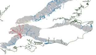 Groundwater Flood Forecast for 1 January 2014