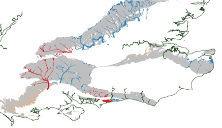 Groundwater Flood Forecast for 7 January 2014