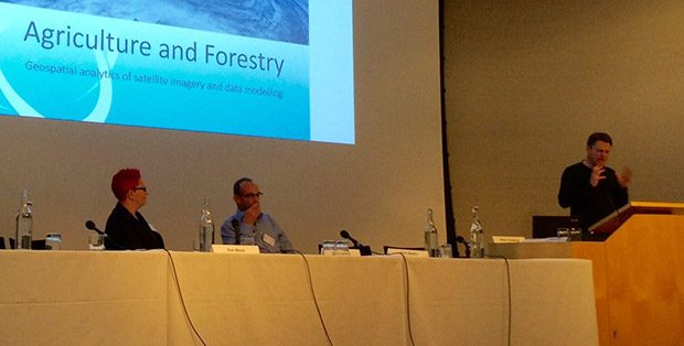 UCL's Professor Mark Maslin talks about analysing satellite images for forestry and agriculture purposes.