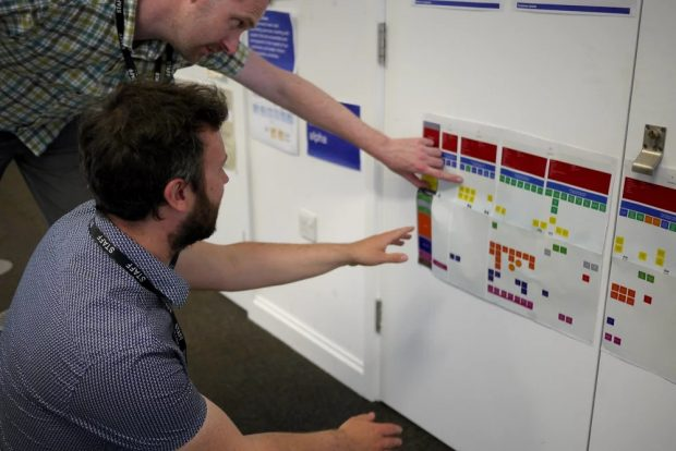 agile working in Defra