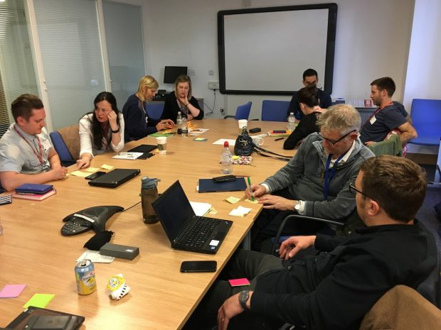 Members of the Product Managers community at a recent meeting