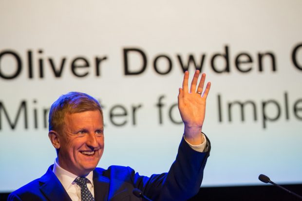 Oliver Dowden, Minister for Implementation