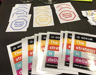 Silicon event stickers
