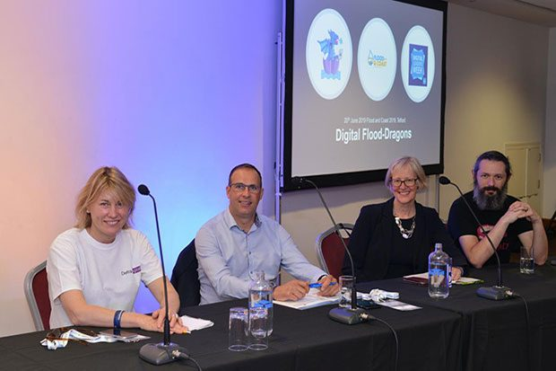 'Digital Dragons' at the Flood and Coast Event 2019