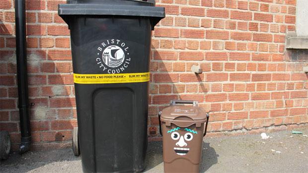 Bristol city bins