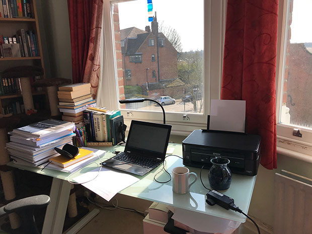 My office at home