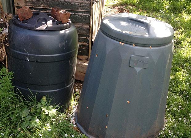 Water butt composter