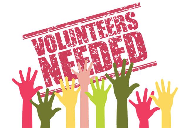 Volunteers needed logo